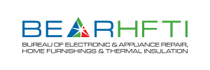 OFFICIAL LOGO FOR THE BUREAU OF ELECTRONIC AND APPLIANCE REPAIR, HOME FURNISHINGS AND THERMAL INSULATION